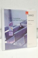 Dako AutoStainer Universal Staining System User Guide Manual + Free Priority SH