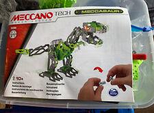 Large Meccano Tech T Rex Meccasaur Programmable Robotic Dinosaur Maker Kit