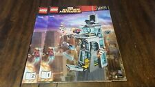 Lego Marvel Super Heroes (76038) Attack On Avengers Tower - Manuals Only