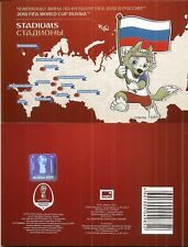 "A stamp booklet ""FIFA 2018 World Cup Russia™. Stadiums"" December 25 2017"