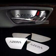Door Catch Hairline Metal Silver Garnish Molding Cover For HYUNDAI 2012-16 Azera