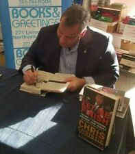 CHRIS CHRISTIE SIGNED book LET ME FINISH Trump, the Kushners, Bannon, New Jersey