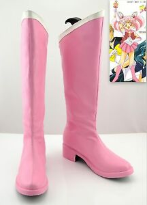 Cosplay Sailor moon Sailor Chibi moon Chibi Usa Schuhe Stiefel Boots Handarbeit