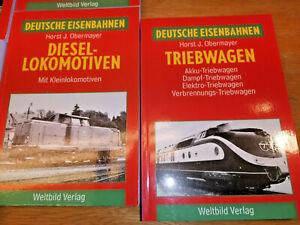 Deutsche Eisenbahnen Dokumentation der Geschichte 10 Bände (PH) K1124