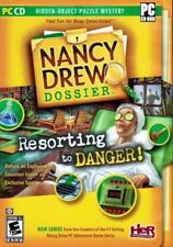 Nancy Drew: Resorting to Danger (PC Game) XP/Vista FREE US Shipping NEW