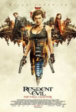 RESIDENT EVIL THE FINAL CHAPTER MOVIE POSTER 1 Sided ORIGINAL Version B 27x40