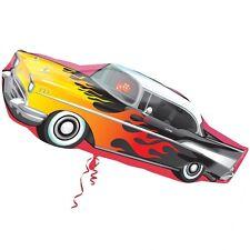 "ROCK & ROLL BALLOON 35"" 50's ROCKING CAR SUPERSHAPE ANAGRAM FOIL BALLOON"