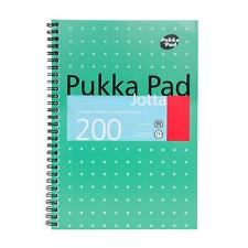 B5 Pukka Pad Notebook/200page/80gsm/Wirebound/Metallic/Bigger than A5