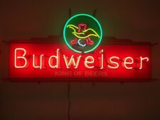 Anheuser Busch King of Beers Neon Light Eagle Beer Bar Sign