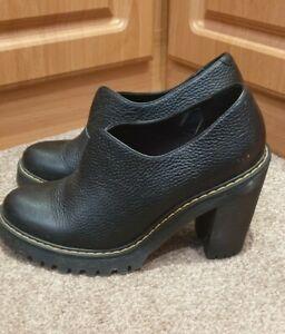 Dr Martens Cordelia Black  Heels Size UK 7
