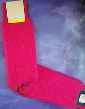 Paul Smith Mens Mid Length Italian Socks Mohair Wool Cashmere Cerise K137 1-Size