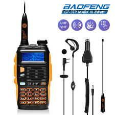 Baofeng GT-3 TP Mark III ★8W★ 2m/70cm VHF/UHF PMR Amateur Mobile Hand-Funkgerät
