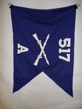 flag967 WW2 US Army Airborne Guide on 517 Parachute Infantry Regiment A Co IR42B