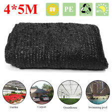 5x4m 40% Sunblock Shade Cloth Plant Cover Shading Rate Fabric Outdoor Sunscreen