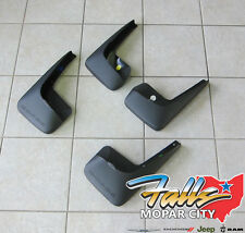 2011-2017 Dodge Grand Caravan Deluxe Molded Splash Guards Mud Flaps Mopar OEM