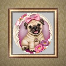 DIY 5D Diamond Painting Dog Embroidery Cross Stitch Kit Crafts Home Decor