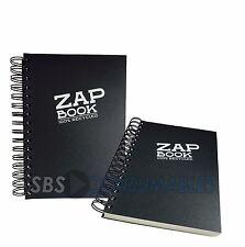 Clairefontaine Zap espiral A5 Sketch Book 100% Reciclado 160 Hojas Cubierta Negra