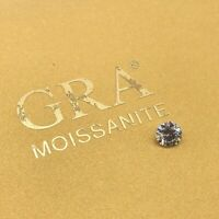 Rund Brillantschliff - Moissanit - Diamant - 6,5 mm - 1 ct - VVS1 I-J Weiß