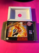 Snes Box Only. Last Action Hero. No Game Or Manual
