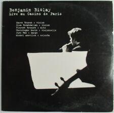"""BENJAMIN BIOLAY - CD HORS-COMMERCE 7 TITRES """"LIVE AU CASINO DE PARIS"""""""