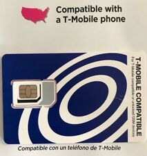 Tracfone T-Mobile Network Triple Cut Sim Card Tracfone T-Moble Sim Card