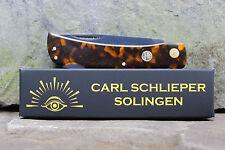 Eye Brand Carl Schlieper 99PLL Lockback Clodbuster Lirinite Tortoise with shield
