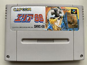 Area 88 [ Nintendo Super Famicom SFC ] Japan Import Cartridge Only