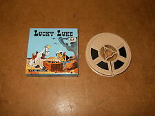 Ancien film SUPER 8 COULEURS (FILM OFFICE) - LUCKY LUKE Contre les Dalton - 1973