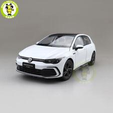 1/18 VW Volkswagen Golf 8 R Line Diecast Model Toys Car Boys Girls Gifts White
