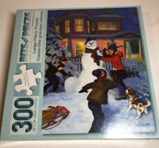 New Sealed Bits and Pieces 40994 Jigsaw Children Puzzle Snowman Winter