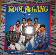 "Kool & The Gang ""Forever"", Polygram promotional poster, 1987, 24x24, Ex, R&B"