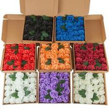 Diy Brida 25Pcs Pe Foam Rose Artificial Flower Wedding Party Home Decoration