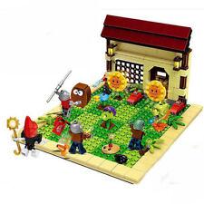 387Pcs Plants vs Zombies Garden Maze Struck Building Blocks Bricks Toys For Kids