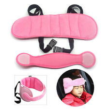 Car Seat Safety Adjustable Head Support Band Headrest Pillow For Toddler Soft