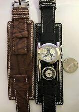 Von Dutch Dutchman Swiss Made Chronograph Dual Time Dennis Rodman Gothic Watch