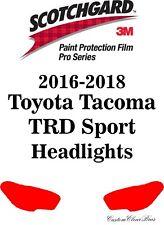 3M Scotchgard Paint Protection Film Pro Serie 2016 2017 2018 Toyota Tacoma Sport