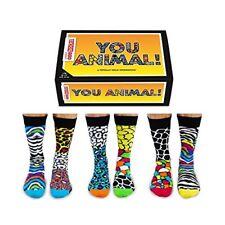 Fathers Day GIft United Oddsocks You Animal Mens Animal Print Socks