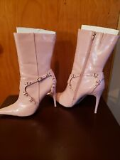 Passi Pink Womens Boots Size 9