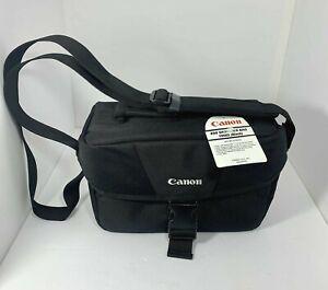 Canon EOS DSLR Camera and Gadget Shoulder Bag100ES BLACK - NEW w/ Tags
