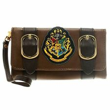 Official Harry Potter Satchel Bag HP Crest Purse Clutch Tri-Fold Wallet Gift