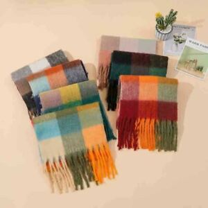 2020 new ladies warm blanket tassel scarf shawl scarf wool ladies shawl cover