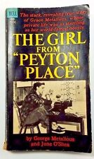 "The Girl From ""Peyton Place"" O'Shea 1965 Metalious Vintage First Edition"