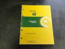 John Deere 2 and 3 Row Row-Crops Operator's Manual   OM-E75682 J5