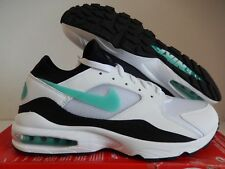 NIKE AIR MAX 93 WHITE-SPORT TURQUOISE-BLACK SZ 8.5 [306551-107]