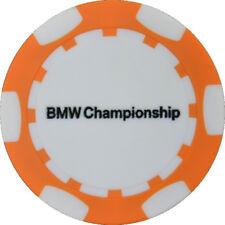2017 BMW CHAMPIONSHIP (Conway Farms) Logo (ORANGE) POKER CHIP Golf BALL MARKER