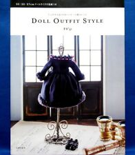 Doll Outfit Style /Japanese Doll Clothes Pattern Book Brand New!