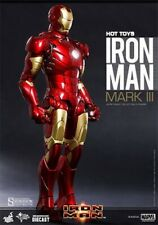 1/6 HOT TOYS IRON MAN MK3 DIECAST MMS256D07 MARK III ACTION FIGURE MISB