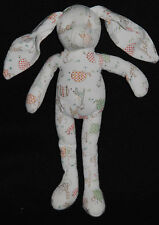 Peluche Doudou Lapin Jungle SERGENT MAJOR Blanc Savane Girafe Elephant TTBE