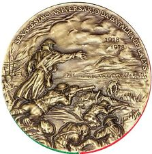 BATTLE / BATTLE OF LALYS / WORLD WAR I / BIG BRONZE MEDAL BY JOS? DE MOURA. M33