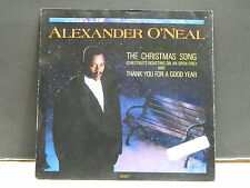 "ALEXANDER O'NEAL The christmas song 653 182 UK ""Stcker PROMO"
